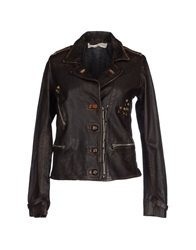 Golden Goose Jackets Dark Brown