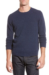 Bonobos Donegal Wool Crewneck Sweater Navy