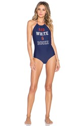 Beach Riot Port Forth One Piece Navy
