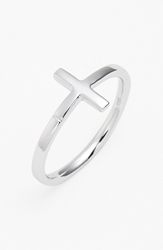 Bony Levy 14K Gold Cross Ring Nordstrom Exclusive White Gold