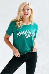 Truly Madly Deeply Jingle Bells Tee Green