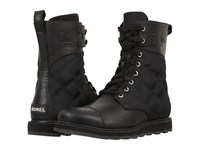 Sorel Madson Tall Lace Black Men's Waterproof Boots