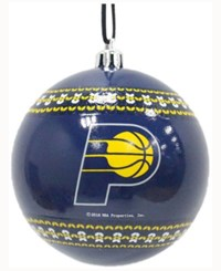 Memory Company Indiana Pacers Ugly Sweater Ball Ornament Navy