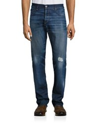 Rag And Bone Fit 2 Medium Wash Distressed Jeans Mile End
