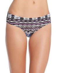 Karen Kane Montego Bikini Bottom Multi Colored