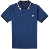Fred Perry Textured Polka Dot Polo