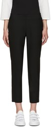 6397 Black Wool Trousers