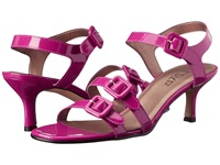 Rsvp Miranda Fuchsia Ferns Patent Women's Dress Sandals Purple