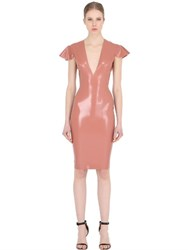 Atsuko Kudo Linde Latex Pencil Dress