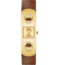 Coach 14502223 Gold Plated Atch