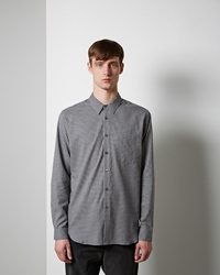 Margaret Howell Basic Shirt Charcoal Grey