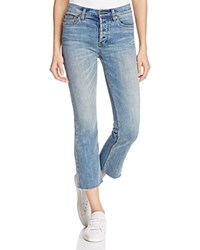 Free People Far From Any Road Cropped Jeans Denim