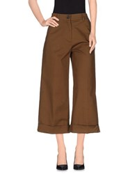Erika Cavallini Semi Couture Erika Cavallini Semicouture Trousers 3 4 Length Trousers Women