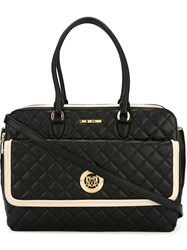 Love Moschino Adjustable Strap Quilted Bag Black