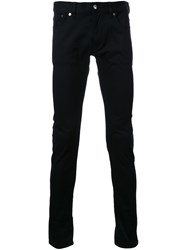 Attachment Skinny Trousers Black
