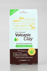 The Face Shop Volcanic Clay Black Head Nose Strip Aloe