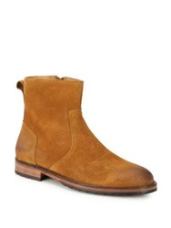Belstaff Attwell Calf Leather Boots Whisky