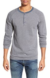 Men's Boss Orange 'Tampard' Jacquard Knit Long Sleeve Henley