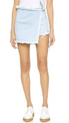 Sandy Liang Sabrina Skort Light Blue Denim