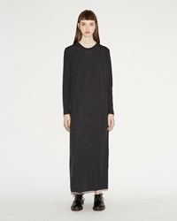 Norse Projects Helena Dress Charcoal Melange