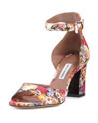 Tabitha Simmons Jerry Leather Ankle Strap Sandal Multi Multi Color