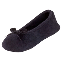 Totes Terry Ballet Slippers