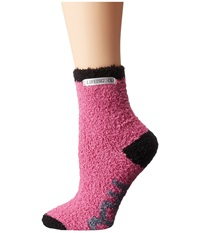 Life Is Good Lightweight Snuggle Crew Fresh Raspberry Women's Crew Cut Socks Shoes Pink