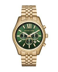 44Mm Lexington Bracelet Watch Golden Green Women's Gold Michael Kors