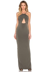 Nookie Disco Dolls Maxi Dress Olive