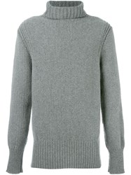 Ann Demeulemeester Grise Turtle Neck Jumper Grey