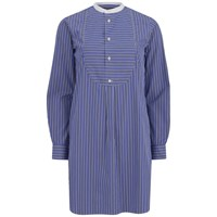 Polo Ralph Lauren Women's Mia Casual Shirt Dress Cobalt Blue