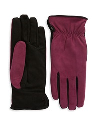 Grandoe Suede Touch Gloves Winter Berry
