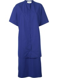 Ports 1961 Two Piece Shirt Dresss Blue