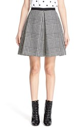 Marc Jacobs Women's Glen Plaid Miniskirt