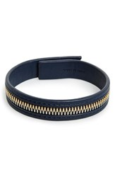 Men's Want Les Essentiels 'Tambo' Zip Leather Bracelet