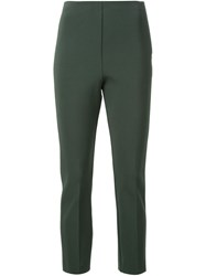 Scanlan Theodore High Waisted Trousers Green