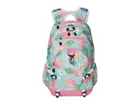 High Sierra Loop Backpack Pineapple Party Pink Lemonade White Backpack Bags Green