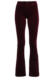 Ag Jeans Janis Trousers Rotwein Dark Red