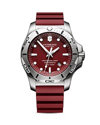 Victorinox Swiss Army Inox Pro Diver Watch 45Mm Red