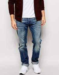 Replay Jeans New Bill Relaxed Fit Mid Wash Midwash