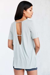 Truly Madly Deeply Ladder Back Tee Green