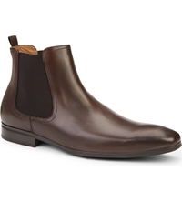 Kurt Geiger Gerald Leather Chelsea Boots Brown