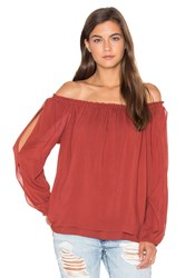 Sanctuary Chantel Blouse Red