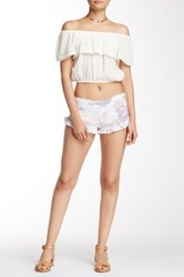 Indah Frill Edge Short Multi