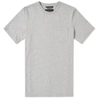 Wings Horns Jersey Pocket Tee Grey