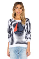 Sundry Sailboat Sweatshirt Navy