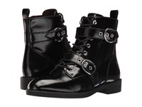 Marc Jacobs Taylor Double Strap Ankle Boot Black Women's Dress Boots