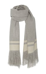 Isabel Marant Cover Scarf Light Grey