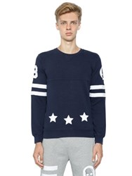 Hydrogen Hockey Cotton Sweatshirt With Patches