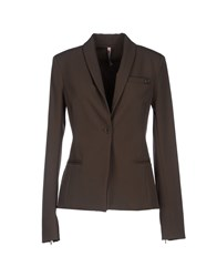 Scee By Twin Set Suits And Jackets Blazers Women Beige